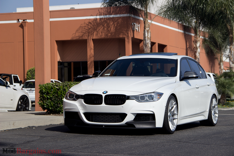 M Sport F30 335i On H Amp R Sport Springs Installed At