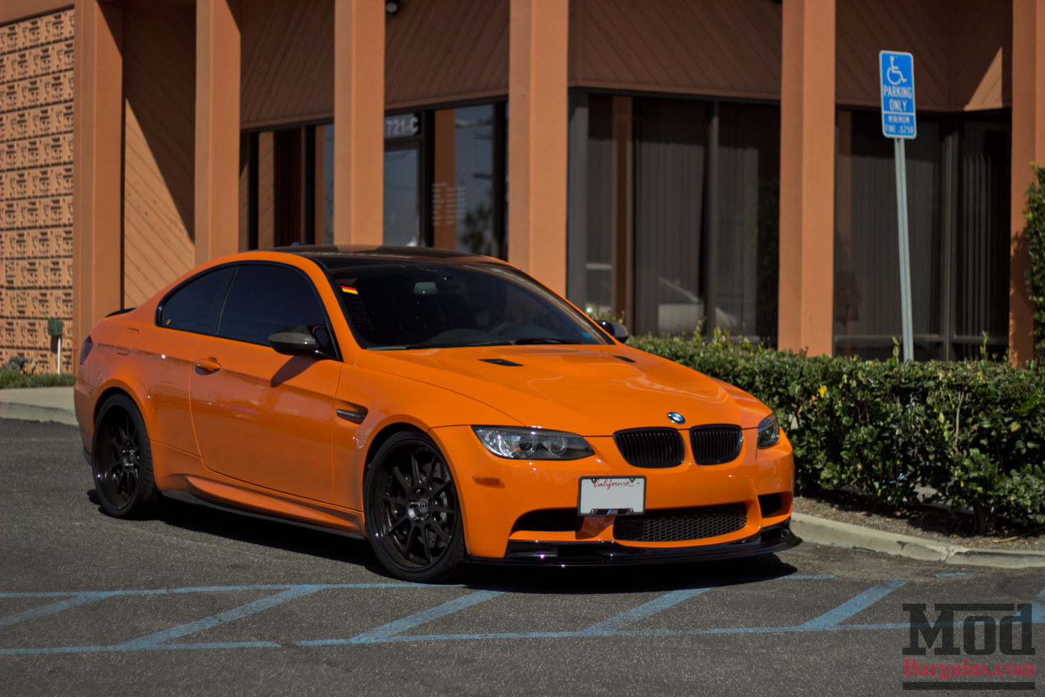 Orange Juice A Stunning Lime Rock Bmw M3 E92