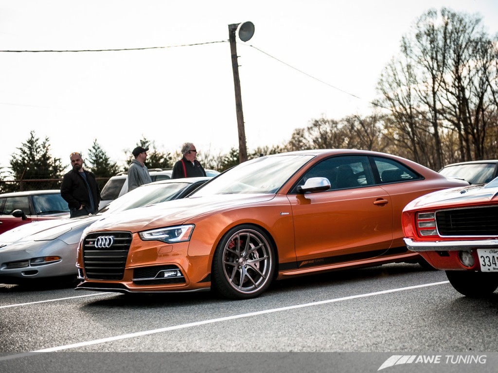 Awe Tuning Sets 1 4 Mi World Record In Full Weight Audi S5