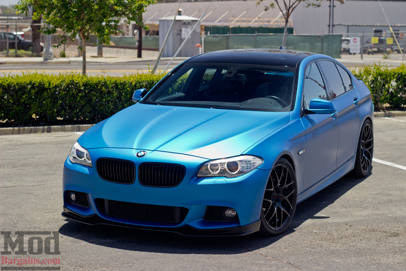 Blue Beauty Paul Reitzin S 2011 Bmw F10 535i