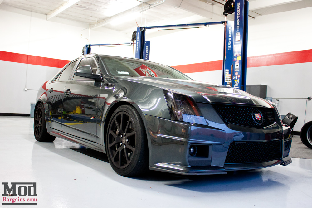 Gray Ghost: Kyle M's Cadillac CTS-V on Eibach Springs