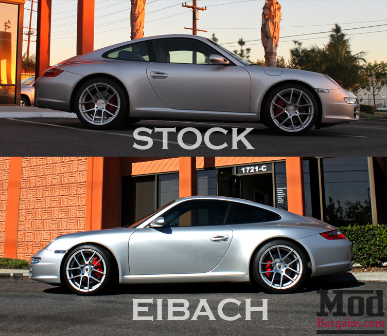 997 Porsche Carrera Drops By On Eibach Springs With Ruger