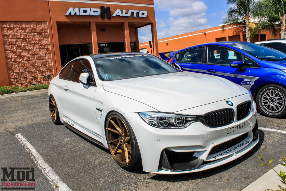 Slammed Bmw F32 435i On Stance Wheels Visits Modauto