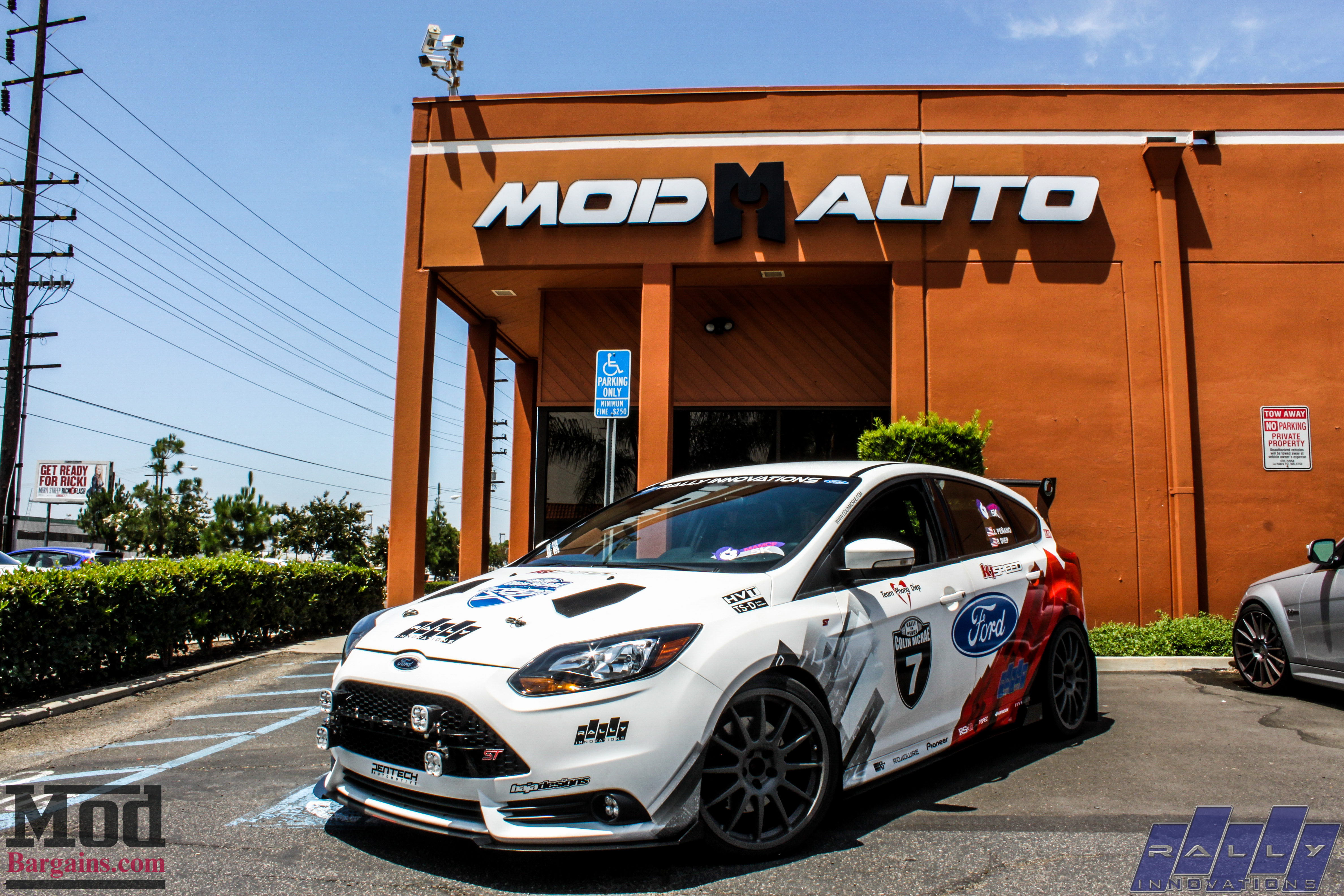 rally x modded focus st visits modauto w video. Black Bedroom Furniture Sets. Home Design Ideas