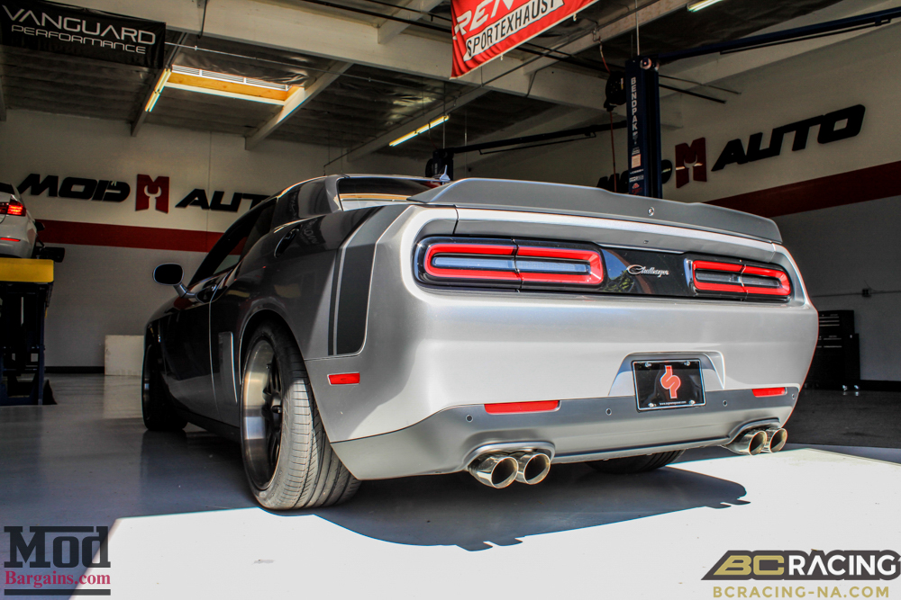 Challenger Scatpak Gets Low On Bc Coilovers Amp Wheels
