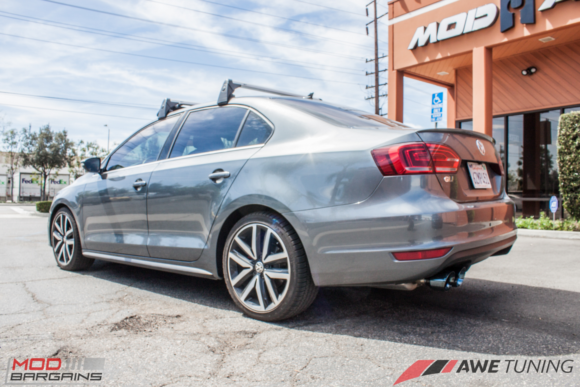 AWE Tuning Exhaust for Jetta GLI Installed @ ModAuto
