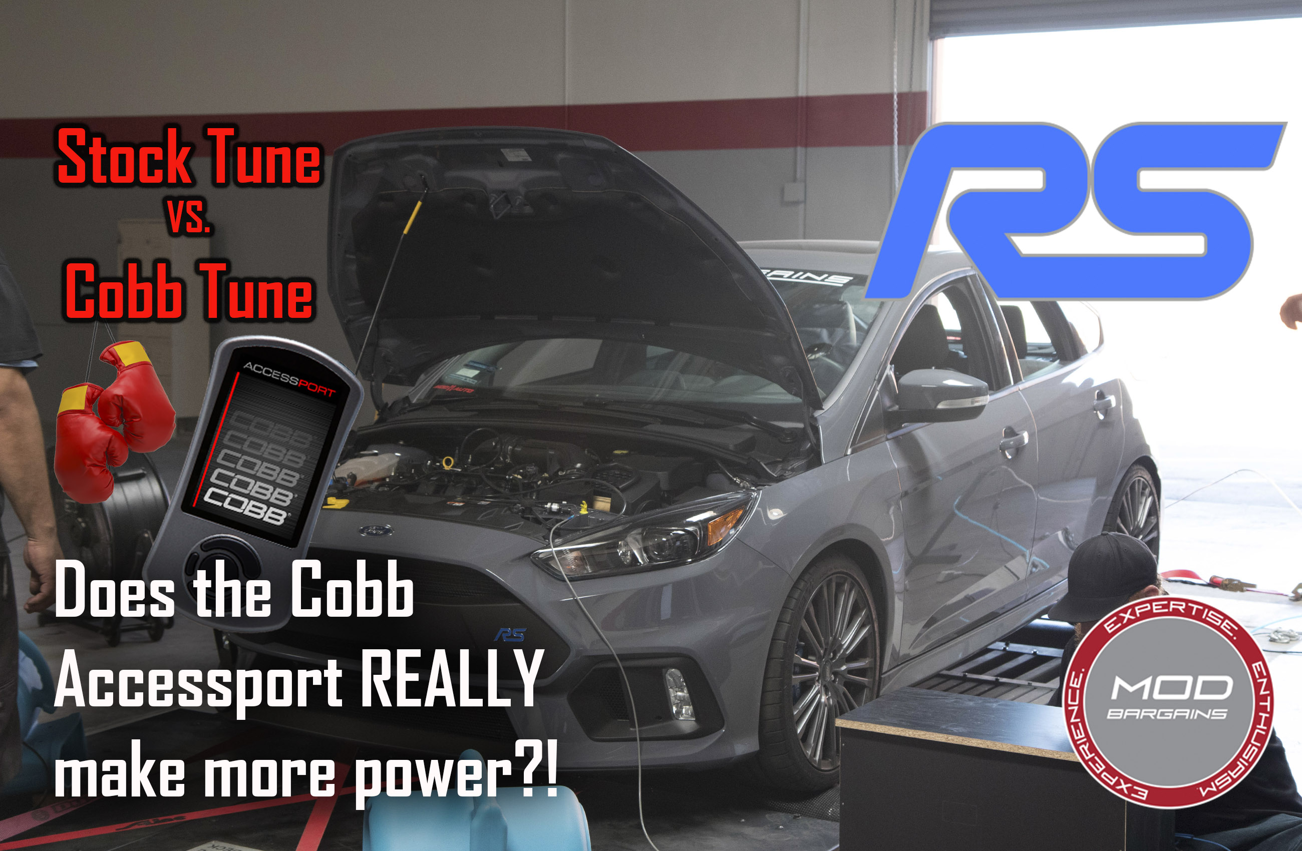 2016 Ford Focus RS Cobb Tuned=Dyno Proven for bigger smiles