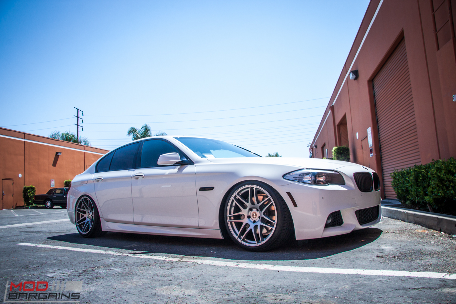 Airrex Bagged F10 Bmw 535i On Forgestar F14s Stuns