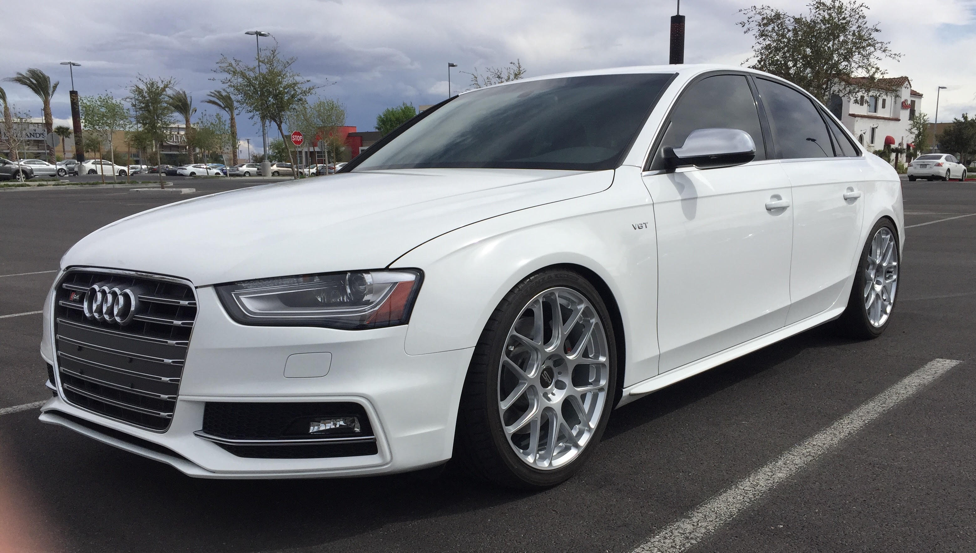 Quick Snap Audi B8 5 S4 On Sportline 7s Wheels
