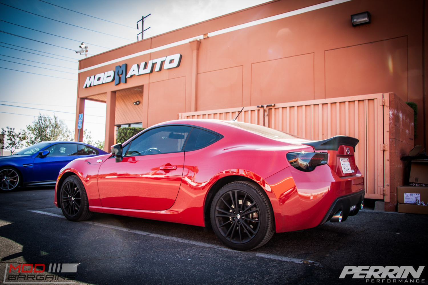 Scion Fr S Gets Perrin Exhaust Amp Valenti Lights Modauto