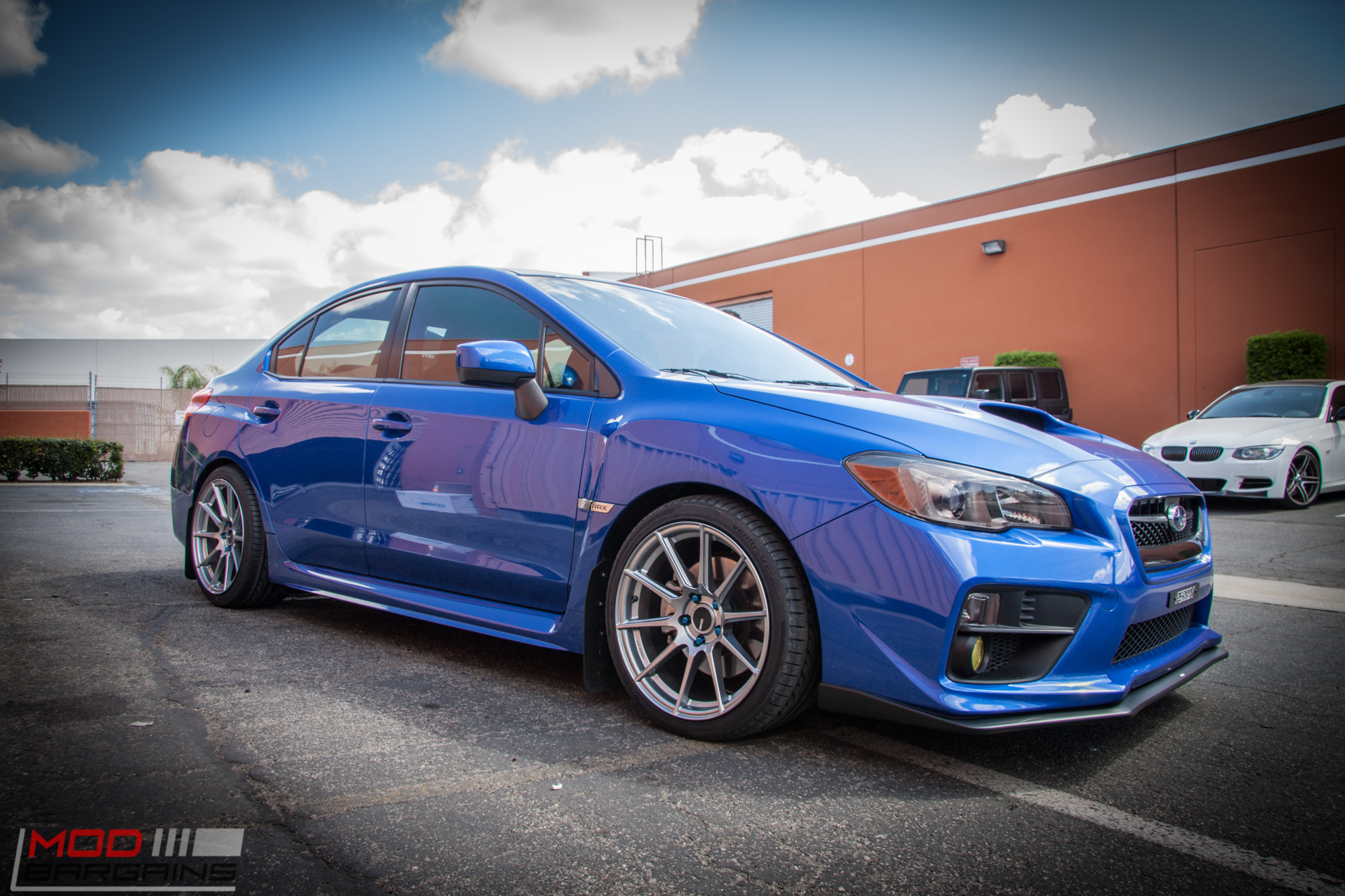 Ford Focus Hatchback Rims >> 2015 Subaru WRX on Swift Springs gets Enkei TS10s @ ModAuto