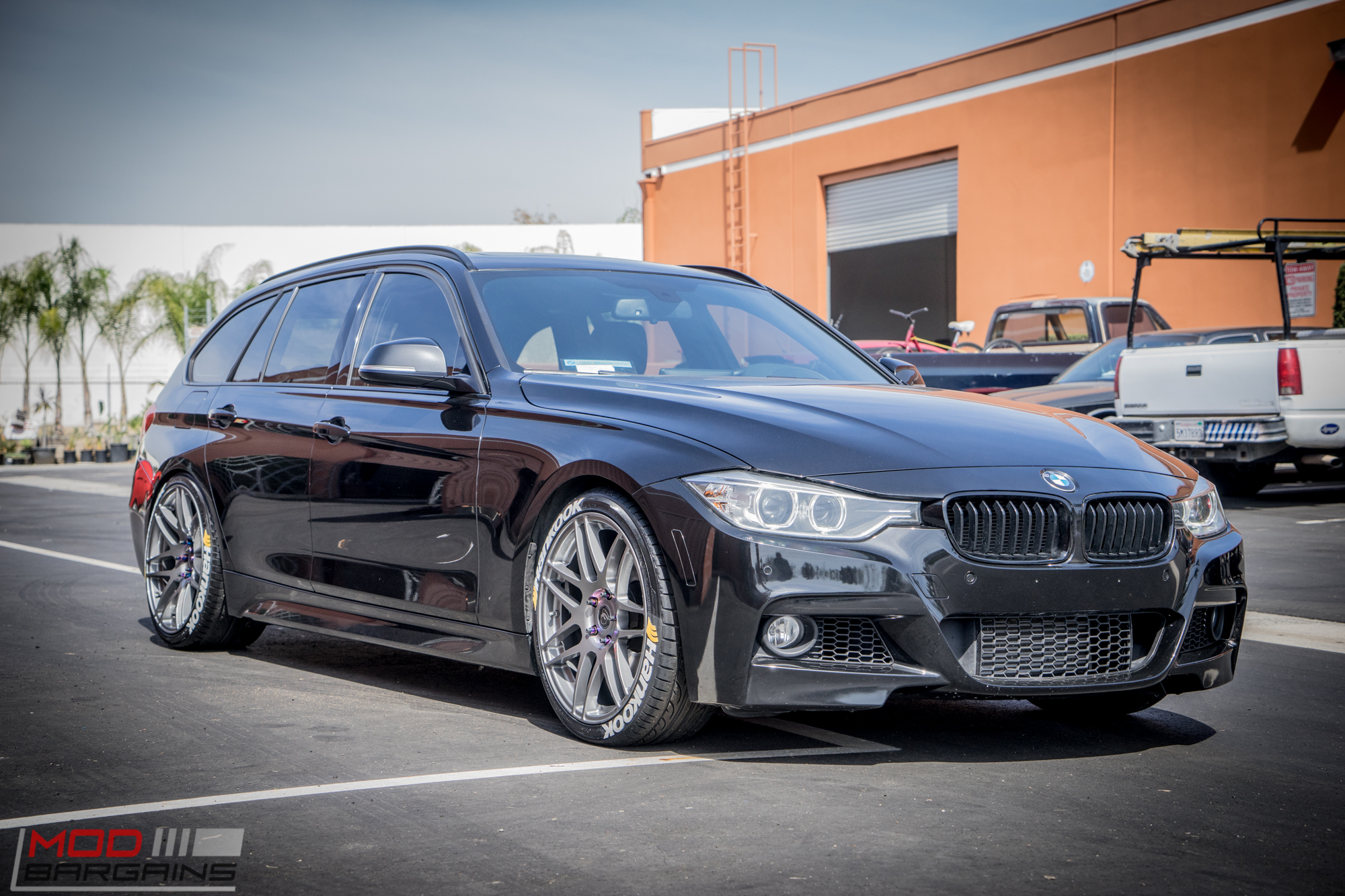 f31 bmw 328i touring on bc coilovers stuns on forgestars. Black Bedroom Furniture Sets. Home Design Ideas