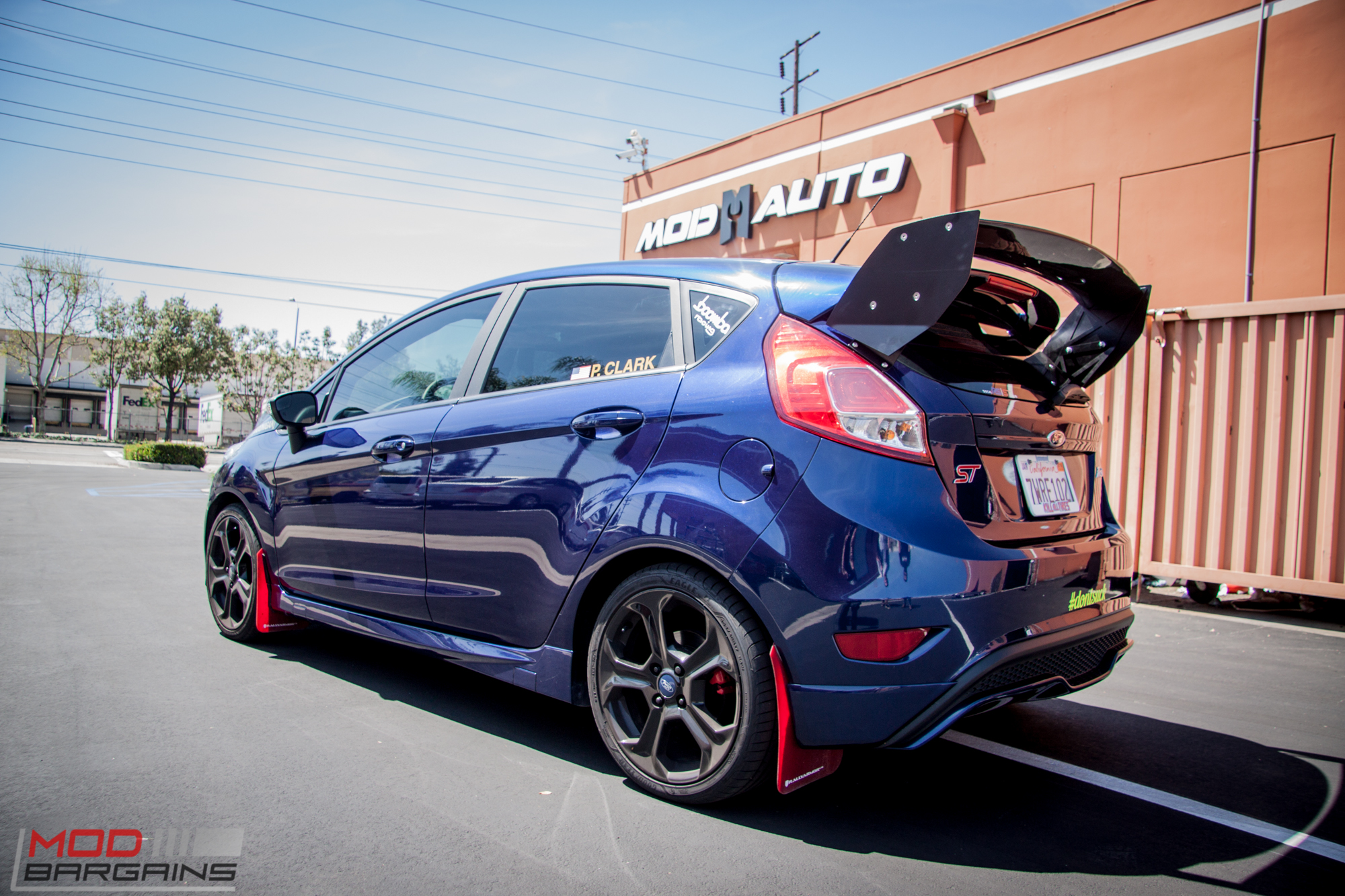 Ford Focus 2017 Hatchback >> Quick Snap: Paul C Goes Big with Rally Innovations Wing on Ford Fiesta ST